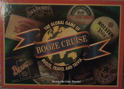 Booze Cruise The Global Game Of  Booze, Travel and Trivia  (Booze And Cruise)