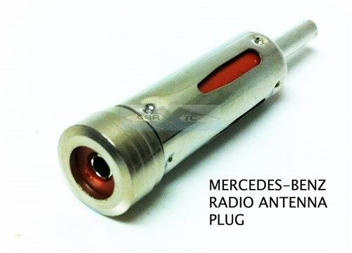 mercedes benz radio antenna adapter connect plug 84 07 ebay. Black Bedroom Furniture Sets. Home Design Ideas