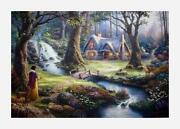 Thomas Kinkade Snow White