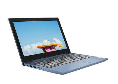 Lenovo IdeaPad Slim 1 11.6 Inch AMD A4 4 GB RAM 64 GB Flash - Blue Notebook