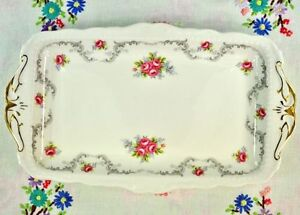 Royal Albert TRANQUILLITY China Sandwich Trays 11.5 in. Vintage