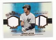 Derek Jeter Jersey Card
