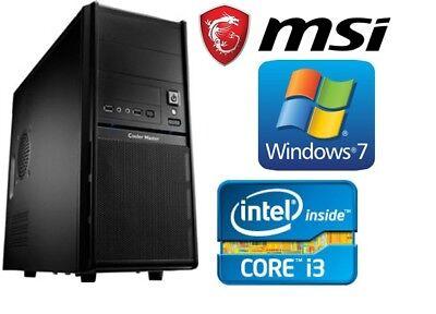 Komplett PC Rechner Neu Computer Intel Core i3 3,10GHz 500GB 4GB Windows 7 gebraucht kaufen  Bunde