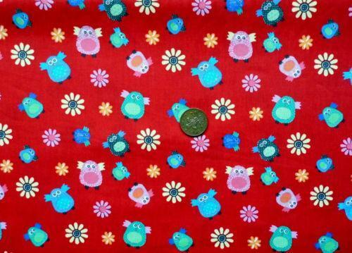 Childrens cotton fabric ebay for Cotton fabric for children s clothes