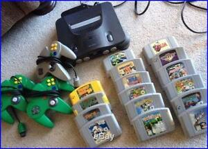 BUYING ALL RETRO VIDEO GAMES NINTENDO SNES N64
