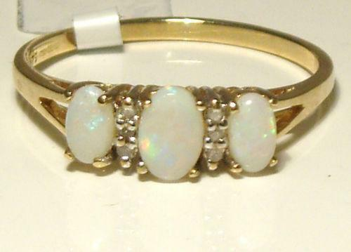 Opal Engagement Ring Ebay