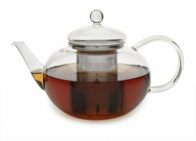 Adagio Tea Glass Teapot and Infuser 42 Oz New