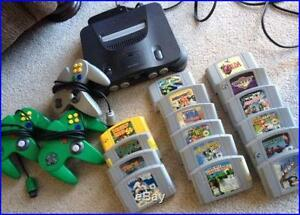 BUYING ALL RETRO VIDEO GAMES NINTENDO SNES N64 NOBODY PAYS MORE$