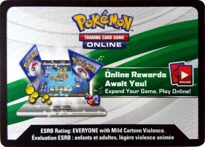 Pokemon online TCGO Promo/Deck/booster/box tcg codes