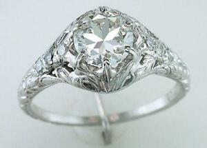 art deco vintage engagement ring - Art Deco Wedding Rings