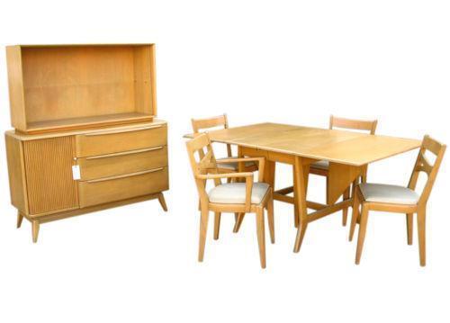 heywood wakefield dining table ebay