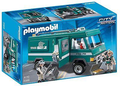 Playmobil 5566 Geldtransporter Set City Action mit Figuren