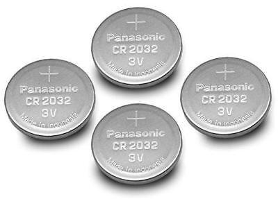 (4pcs) PANASONIC Cr2032 3v Lithium Coin Cell Battery for Misfit Shine Sh0az Pers