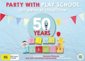 Play School 50th Anniversary Collection DVD R4 New!!