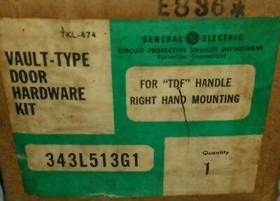 Ge Vault Type Door Hardware Kit 343l513g1 Nib