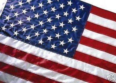 EMBROIDERED US FLAG 3X5 AMERICAN FLAG TOP QUALITY NYLON