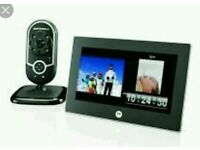 Never been used Motorola baby mobitor and 7inch viewing screen