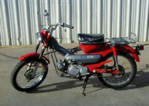 Looking to Buy Old Honda Motorcycles Older the Better
