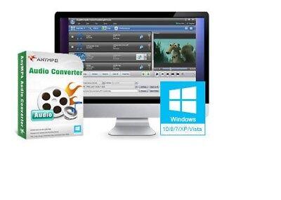 AnyMP4 Audio Converter, Convert video to audio format like MP3, WAV, WMA, ALAC, Mp3 Wma Audio Converter