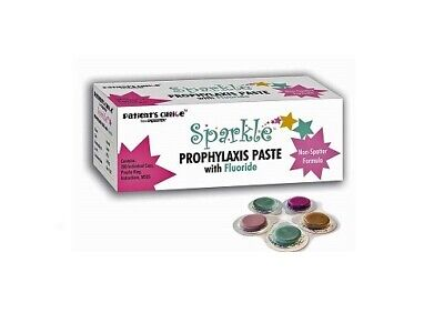 200bx Crosstex Sparkle Prophy Paste Individual Cups Assorted Flavors