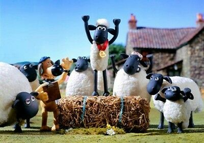 Shaun the Sheep fridge magnet