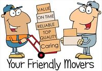 Reliable, Friendly Movers (289) 683-7888