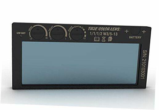 Auto Darkening Welding Lens, True Color Blue Technology, Variable Shade 5-13,