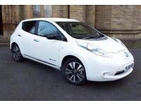 2016 Nissan LEAF Tekna 30kW 5 door Auto [6.6kW Charger] Electric Hatchback