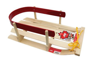 Wood Baby sleigh - used only a few times