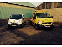 Vauxhall Movano Crew Cab DTI 3500 Recovery Truck