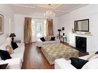Belsize Village. Excellent 4 bedroom, split level apartment close to Swiss Cottage (Jubilee Line)