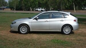 2009 Subaru Impreza G3 MY09 RX AWD Silver 5 Speed Manual Hatchback Winnellie Darwin City Preview