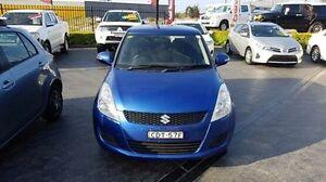 2011 Suzuki Swift FZ GL Blue 5 Speed Manual Hatchback Taylors Beach Port Stephens Area Preview