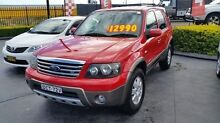 2007 Ford Escape ZC XLT Red 4 Speed Automatic Wagon Taylors Beach Port Stephens Area Preview