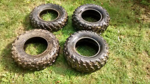 **4 ATV Tires nearly new: Retails for $650, I'm asking $250