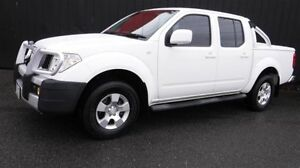 2011 Nissan Navara D40 ST (4x4) White 5 Speed Automatic Dual Cab Pick-up Moorabbin Kingston Area Preview
