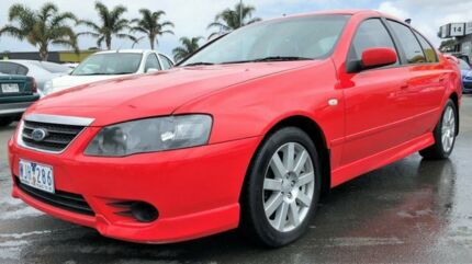 2008 Ford Falcon SR LIMITED with RWC & REG 4 Speed Sports Automatic Sedan Cheltenham Kingston Area Preview
