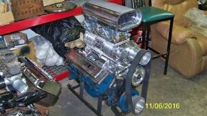 Weiand Holley Blower kit New polished chevy