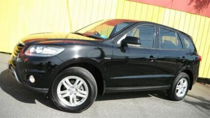 2011 Hyundai Santa Fe CM MY10 SLX CRDi (4x4) Black 6 Speed Automatic Wagon Moorabbin Kingston Area Preview