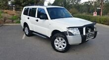 2010 Mitsubishi Pajero  White Manual Wagon Littlehampton Mount Barker Area Preview