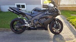 For sale or trade is my 2006 Yamaha R1 with Low KMS
