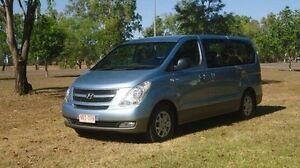 2011 Hyundai iMAX TQ-W Blue 4 Speed Automatic Wagon Winnellie Darwin City Preview