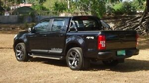 2012 Holden Colorado RG MY13 LTZ Crew Cab Black 6 Speed Sports Automatic Utility Winnellie Darwin City Preview