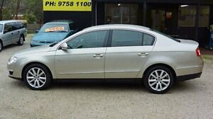 2008 Volkswagen Passat Type 3C MY08 TDI Gold Auto Dual Clutch Sedan Upper Ferntree Gully Knox Area Preview