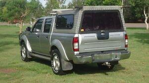2009 Nissan Navara D22 MY2008 ST-R Silver 5 Speed Manual Utility Winnellie Darwin City Preview