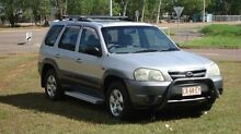 2002 Mazda Tribute Classic Silver 4 Speed Automatic Wagon The Narrows Darwin City Preview