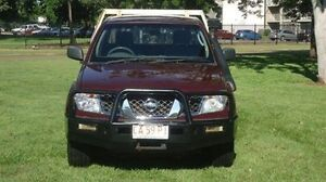 2009 Nissan Navara D40 RX King Cab Maroon 5 Speed Automatic Cab Chassis Winnellie Darwin City Preview