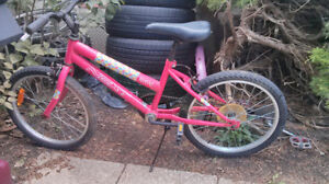 "20""girls 6spRave by Next-pink for 6-9yr old, good shape, kick st"