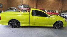 2004 Ford Falcon BA Mk II XR8 Ute Super Cab Green 4 Speed Sports Automatic Utility Heidelberg Heights Banyule Area Preview