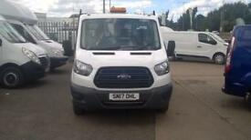 Ford Transit 350 L2 SINGLE CAB TIPPER 130PS EURO 5 DIESEL MANUAL WHITE (2017)